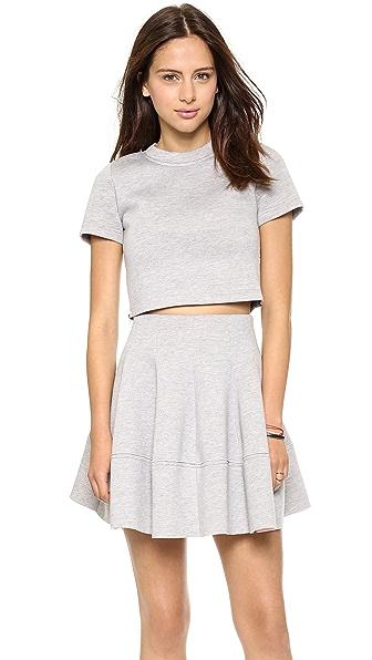 re:named Short Sleeve Crop Top