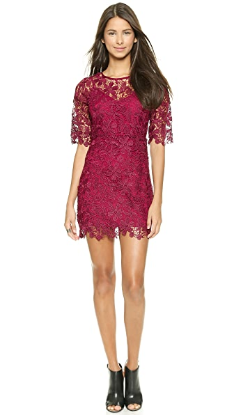 5f4a9e6fa887 Buy Lace Dress (black) 8348415 for online in india on Shopbop at ...