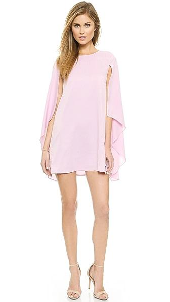 Kupi re:named haljinu online i raspordaja za kupiti Re:Named Woven Cape Dress Pink online