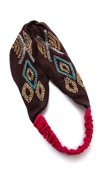 Namrata Joshipura Tribal Patterned Turban Headband