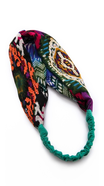 Namrata Joshipura Ikat Twist Turban Headband