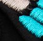 Black/Turquoise