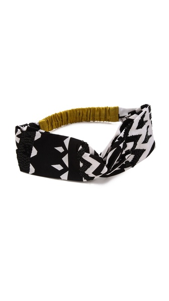 Namrata Joshipura Colorblock Turban Headband