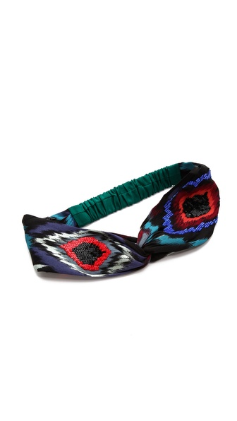 Namrata Joshipura Fade Patterened Turban Headband