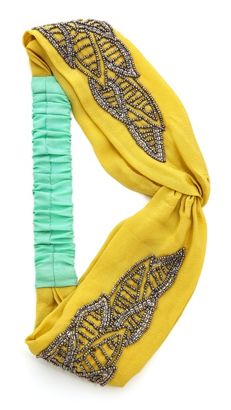 Namrata Joshipura Leaf Turban Headband