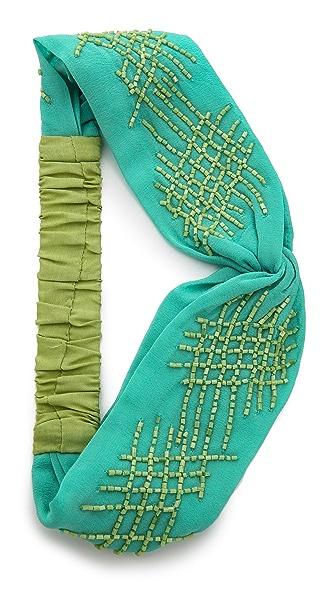 Namrata Joshipura Crisscross Turban Headband