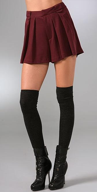 Nanette Lepore Goldfinger Shorts