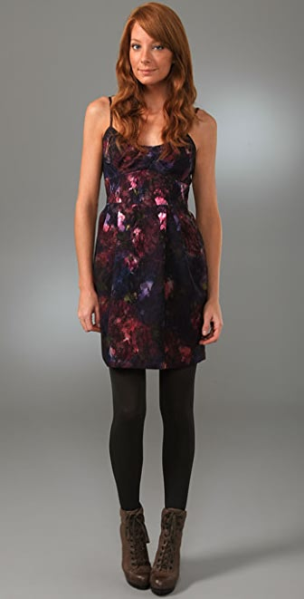 Nanette Lepore Silver Blaze Dress