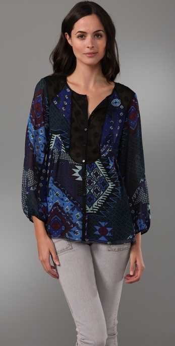 Nanette Lepore Playhouse Blouse