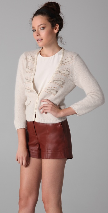 Nanette Lepore Peppery Cardigan Sweater