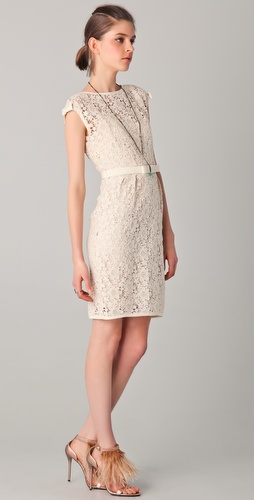 Nanette Lepore Around the World Lace Dress