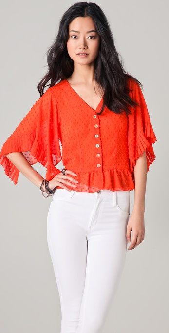 Nanette Lepore Circus Girl Top