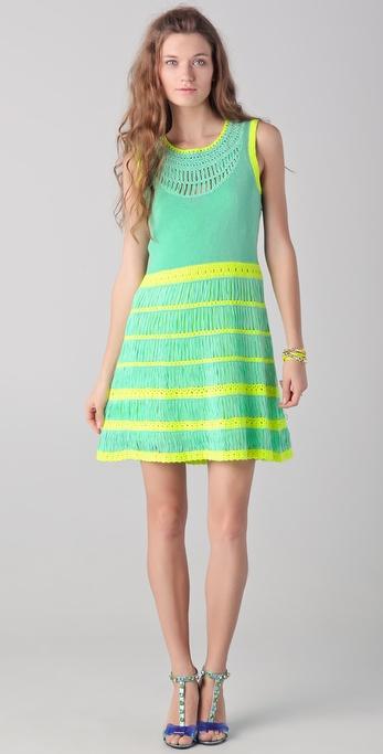 Nanette Lepore Class Flirt Knit Dress