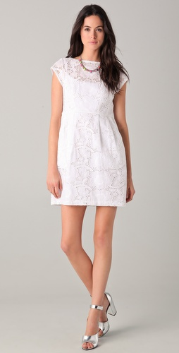 Nanette Lepore Vamos Lace Dress