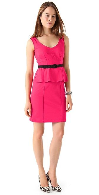 Nanette Lepore Marmalade Peplum Dress