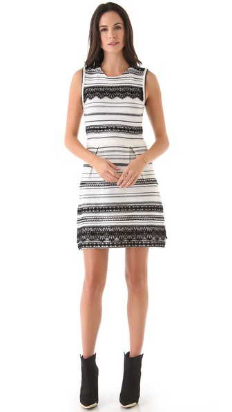 Nanette Lepore Peace & Soul Sweater Dress