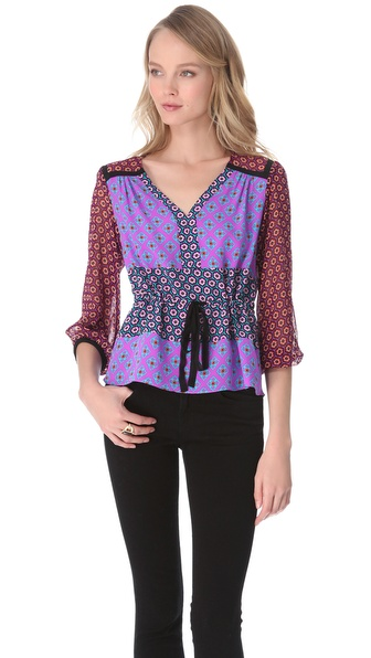 Nanette Lepore Surreal Top