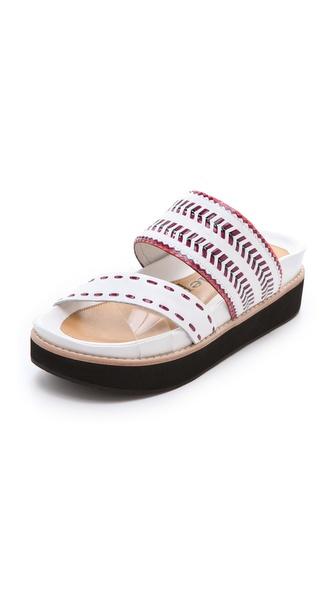 Nanette Lepore Chi Chi Laser Cut Sandals