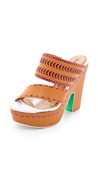 Nanette Lepore Mai Tai Slide Sandals