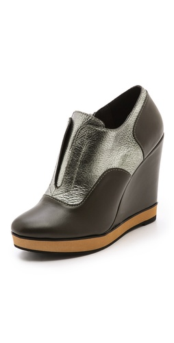 Nanette Lepore Two Timer Wedge Booties at Shopbop / East Dane