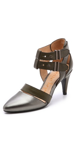 Nanette Lepore Sweet Revenge Metallic Pumps at Shopbop / East Dane