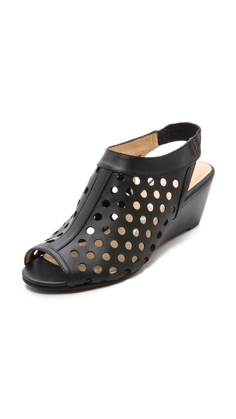 Nanette Lepore Hot Stud Wedge Heels