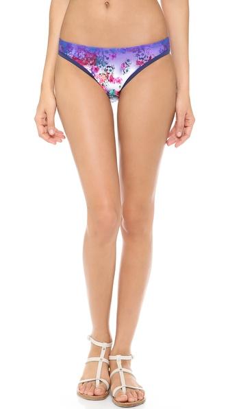 Nanette Lepore Fleur de la Mer Bikini Bottoms