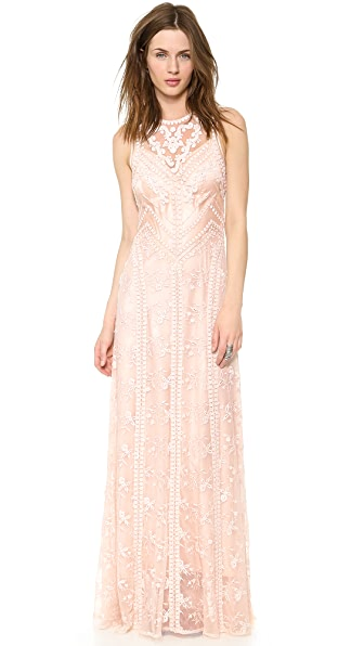 Nanette Lepore Neo Romantic Maxi Dress