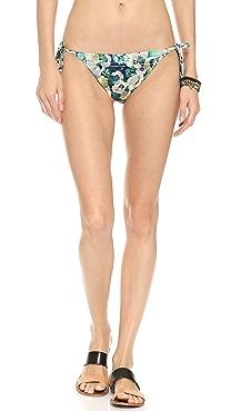Nanette Lepore Hula Hibiscus Bikini Bottoms