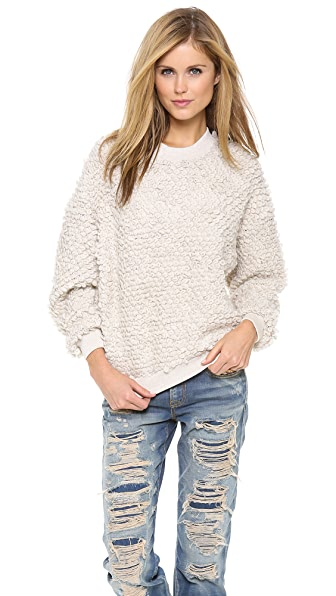 Nanushka Katy Loop Stitch Sweater