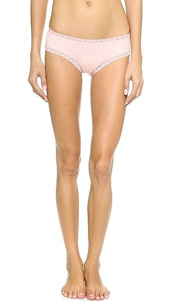 Natori Bliss Cotton Girl Briefs - Blushing Pink
