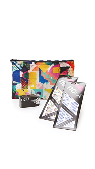 NCLA Top Down & Candy Wrap Nail Gift Set
