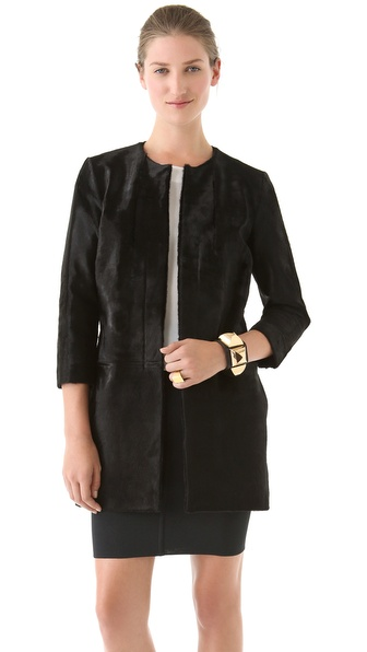 Nellie Partow Milia Coat