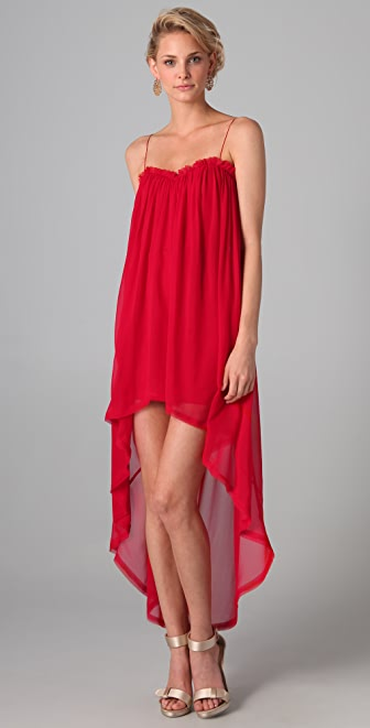 Nicholas Ornella Bustle Dress