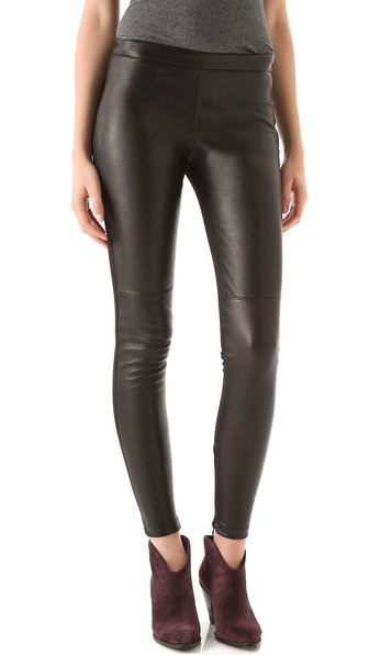 Nicholas Bethany Leather Leggings