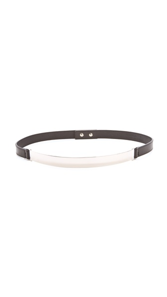 Nicholas Roxanne Silver Plate Belt