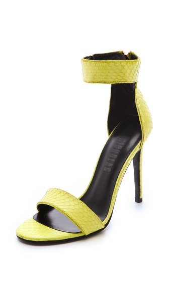 Nicholas Jasmina Snake Sandals
