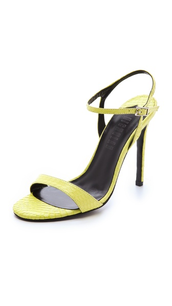 Nicholas Jackie Snake Sandals