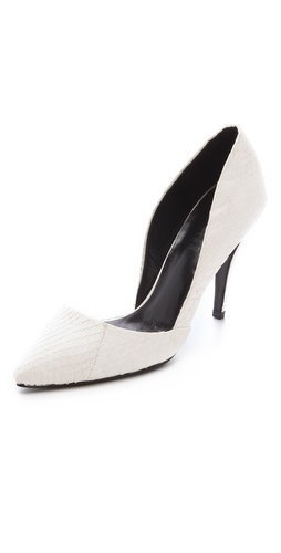 Shop Nicholas Carrie Snake d'Orsay Pumps and Nicholas online - Footwear,Womens,Footwear,Pumps_(Heels), online Store