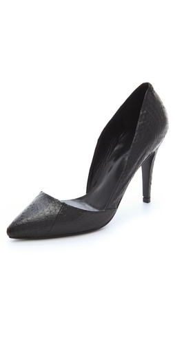 Nicholas Carrie Snake d'Orsay Pumps at Shopbop / East Dane