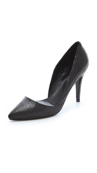 Nicholas Carrie Snake d'Orsay Pumps