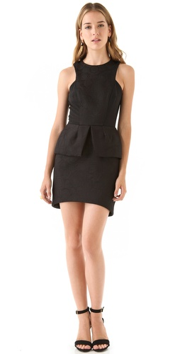 Shop Nicholas Peony Peplum Dress and Nicholas online - Apparel,Womens,Dresses,Cocktail,Night_Out, online Store