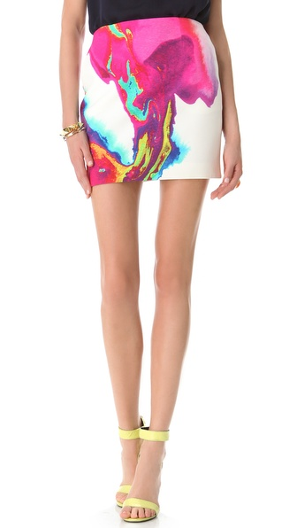 Nicholas Printed Tulip Skirt