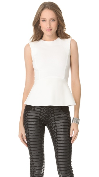 Nicholas Ponte Peplum Top