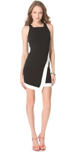 Nicholas Ponte Contrast Dress
