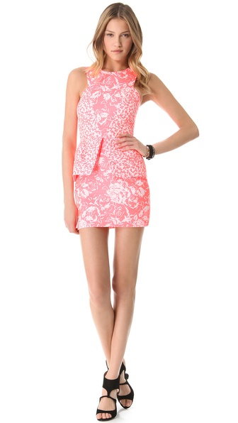 Nicholas French Jacquard Dress
