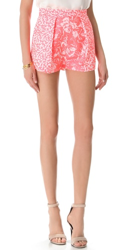 Shop Nicholas French Jacquard Shorts and Nicholas online - Apparel,Womens,Bottoms,Shorts, online Store