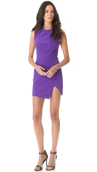 Nicholas Sleeveless Bonded Dress