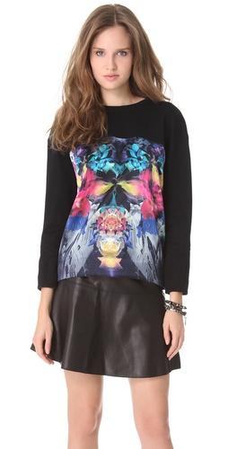 Nicholas Digi Floral Sweater