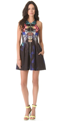 Nicholas Digi Floral Scuba Dress